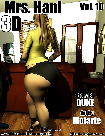 Mrs. Hani 3D Vol.10- Duke..