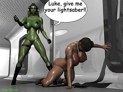 Leia gets beat down - part 3