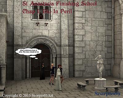 St Anastasia Finishing..