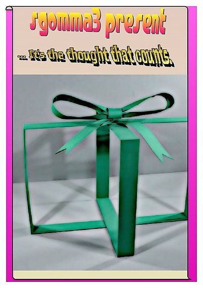 ... Its the thought that..