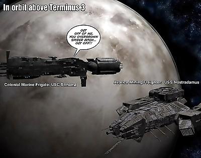 Spermaliens 3d xxx comics..