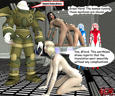 Wonderwoman enslavement..