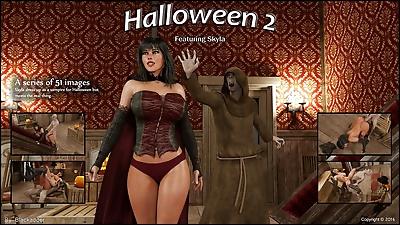 Blackadder- Halloween 2,3D sex