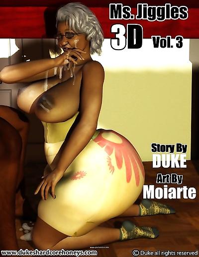 Ms Jiggles 3D – Vol.3-..