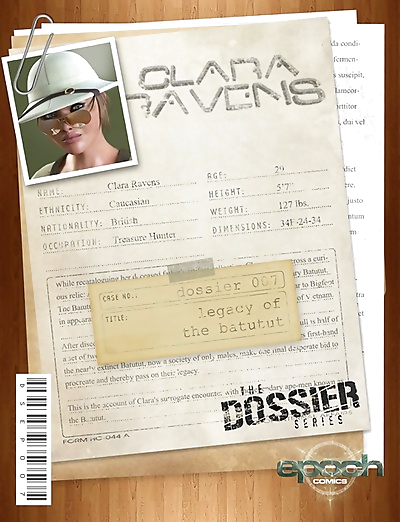 The Dossier 07- Clara..