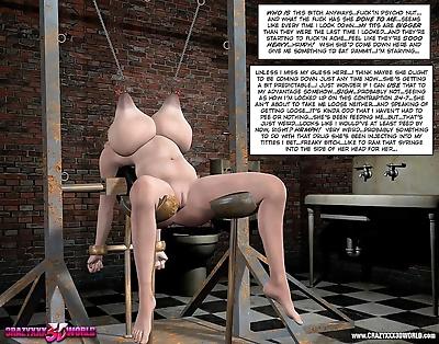 Kinky bondage comics - part..