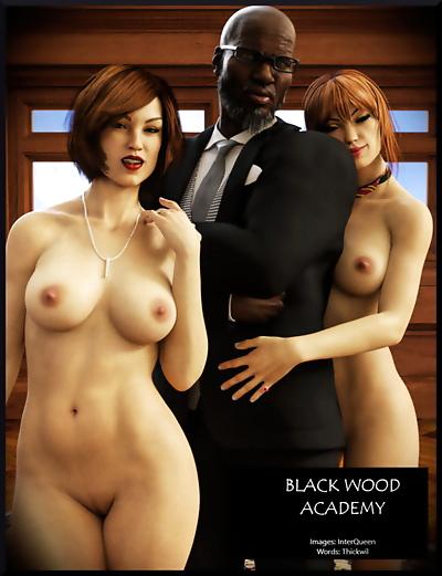 Alison Hale- Black Wood..