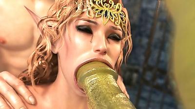 Elven Desire - Prison Perils 2