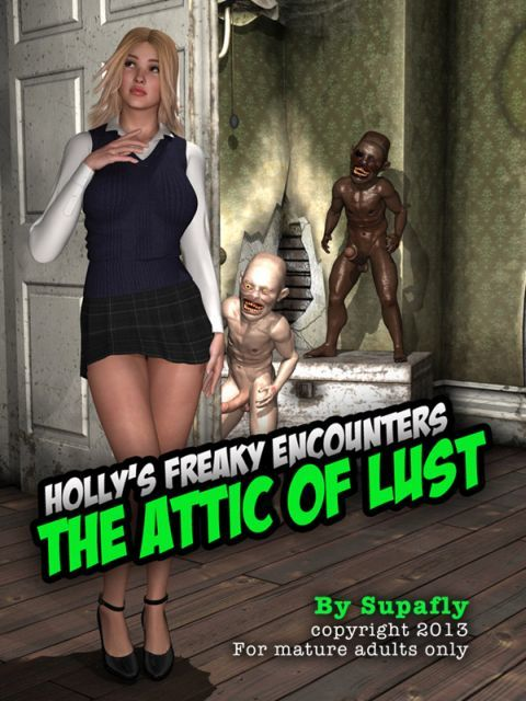 Holly´s Freaky Encounters - The Attic of Lust - part 5