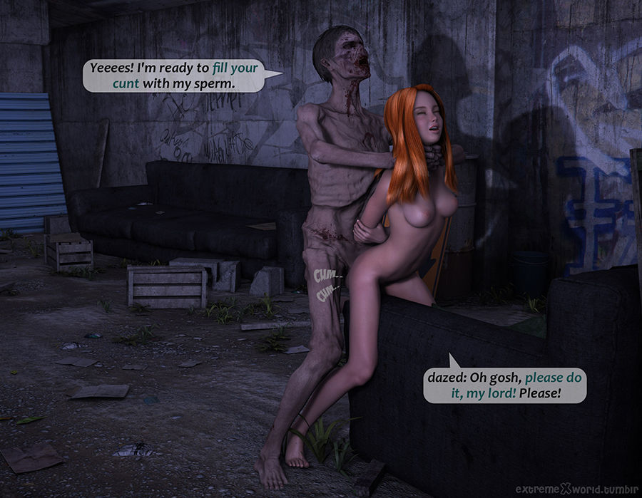 Escaped experiment - The call of lust - part 2