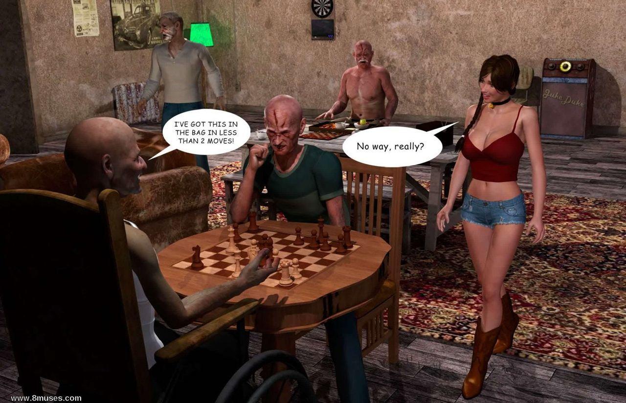Lost Bet – Petra Helps The Elderly