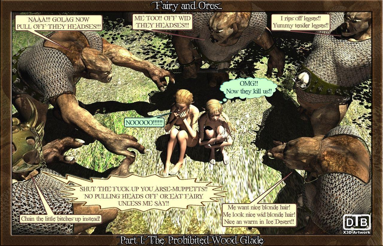 童话 结束 兽人 1 - 一部分 3