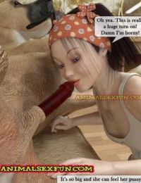 Animal Sex in Incest Family 2